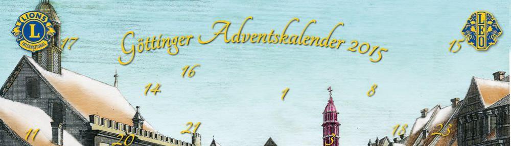 Göttinger Adventskalender 2015